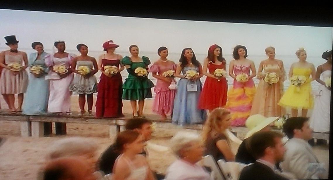 """otra película favorita: """"27 vestidos"""" fácilycotidiano"""